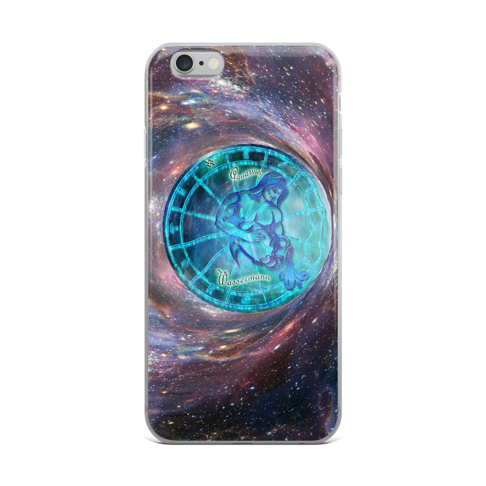 Aquarius Space Wheel iPhone Case