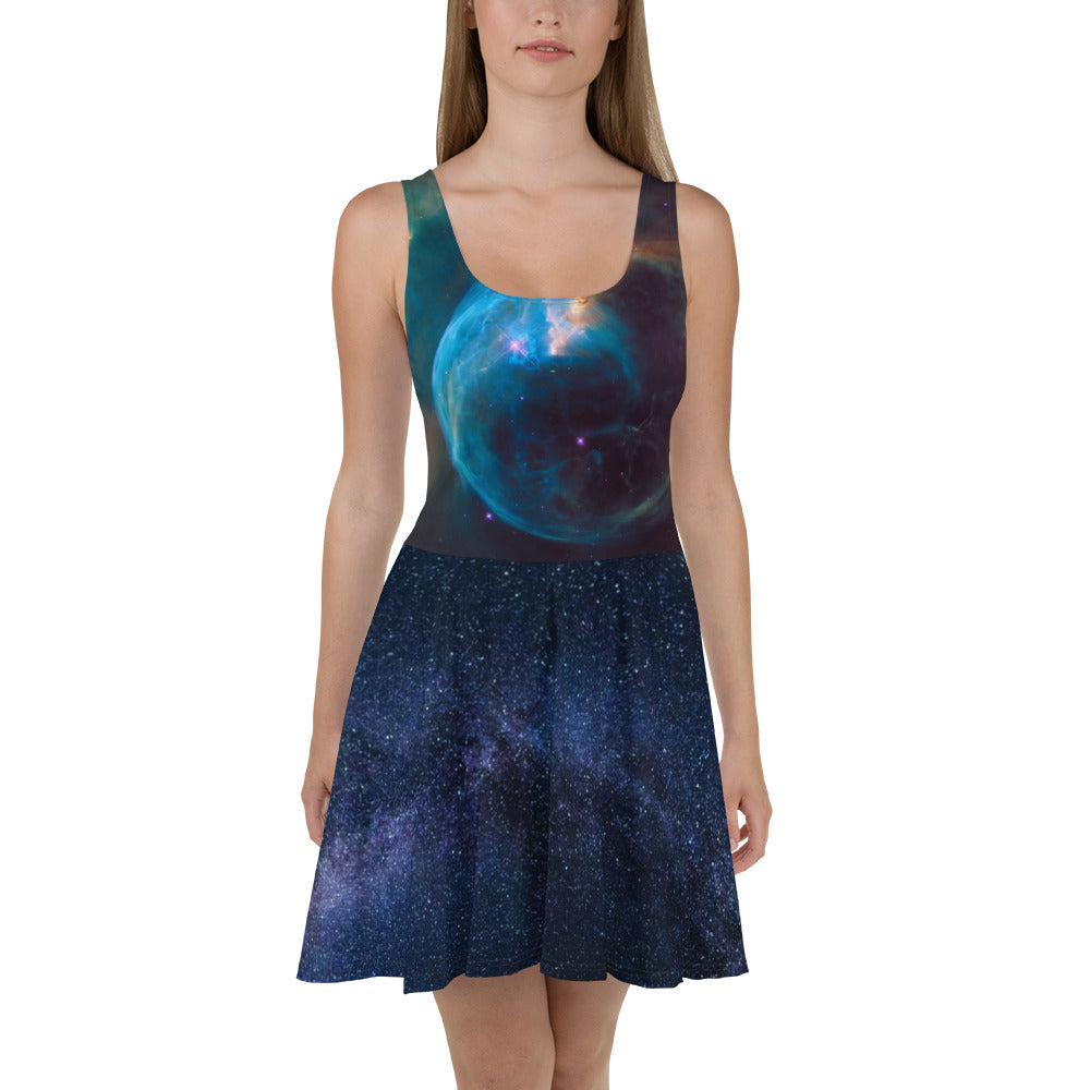 Deep Space Skater Dress