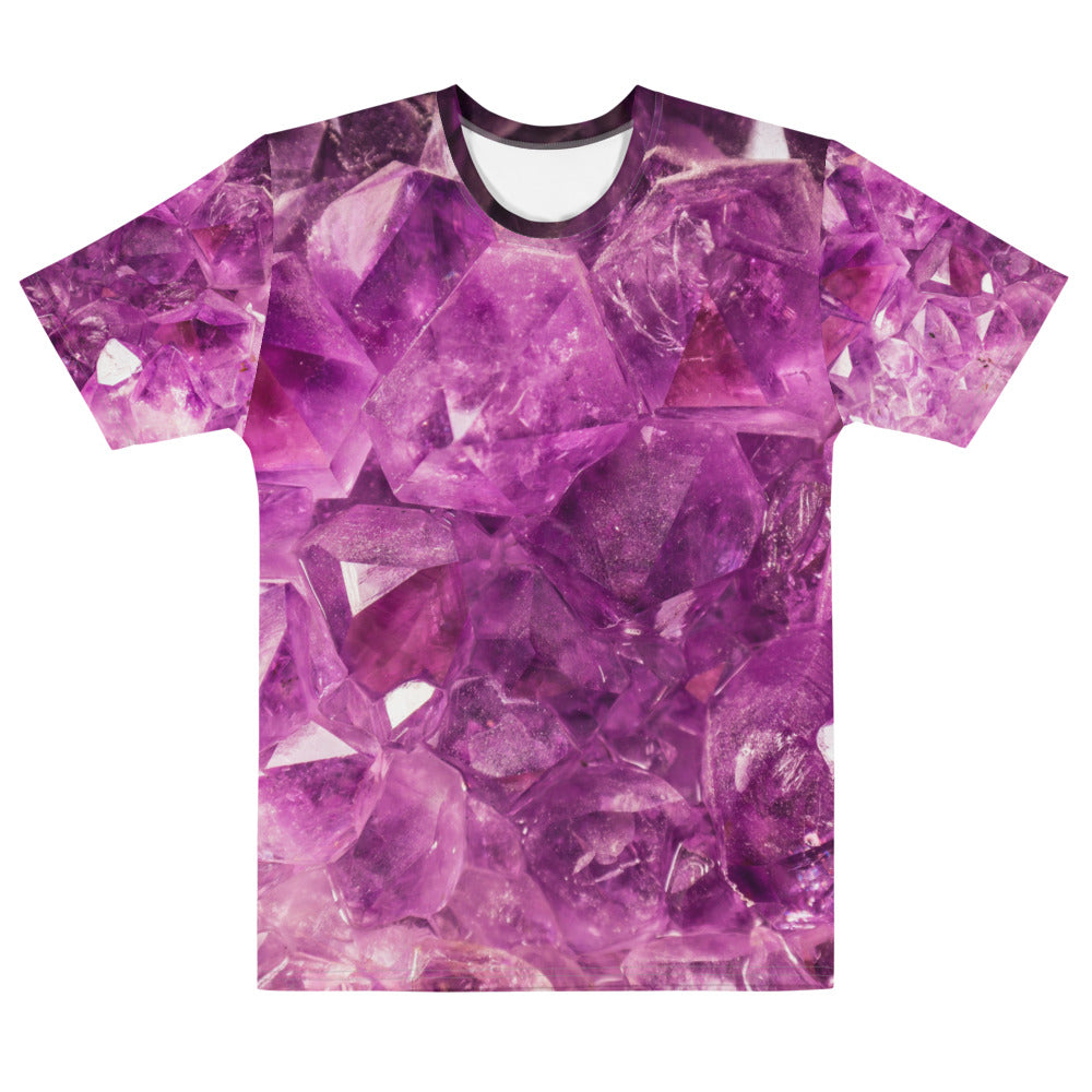 Men's Pink Crystal T-shirt