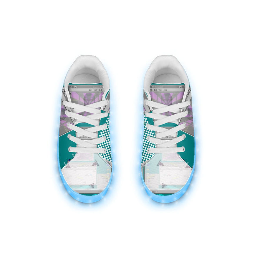 Vaporwave Light Up Sneakers