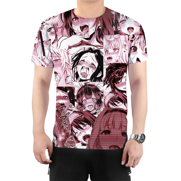 Red Ahegao T-Shirt