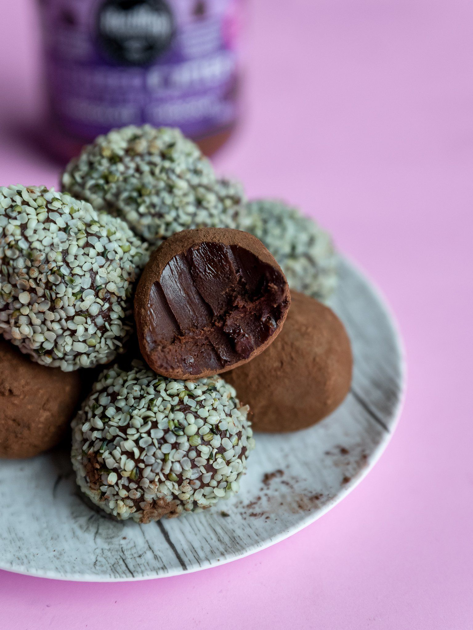 Double Chocolate Keto Truffles! (Keto, Vegan, Dairy-free, Gluten-free, Grain-Free, Allergen-friendly)