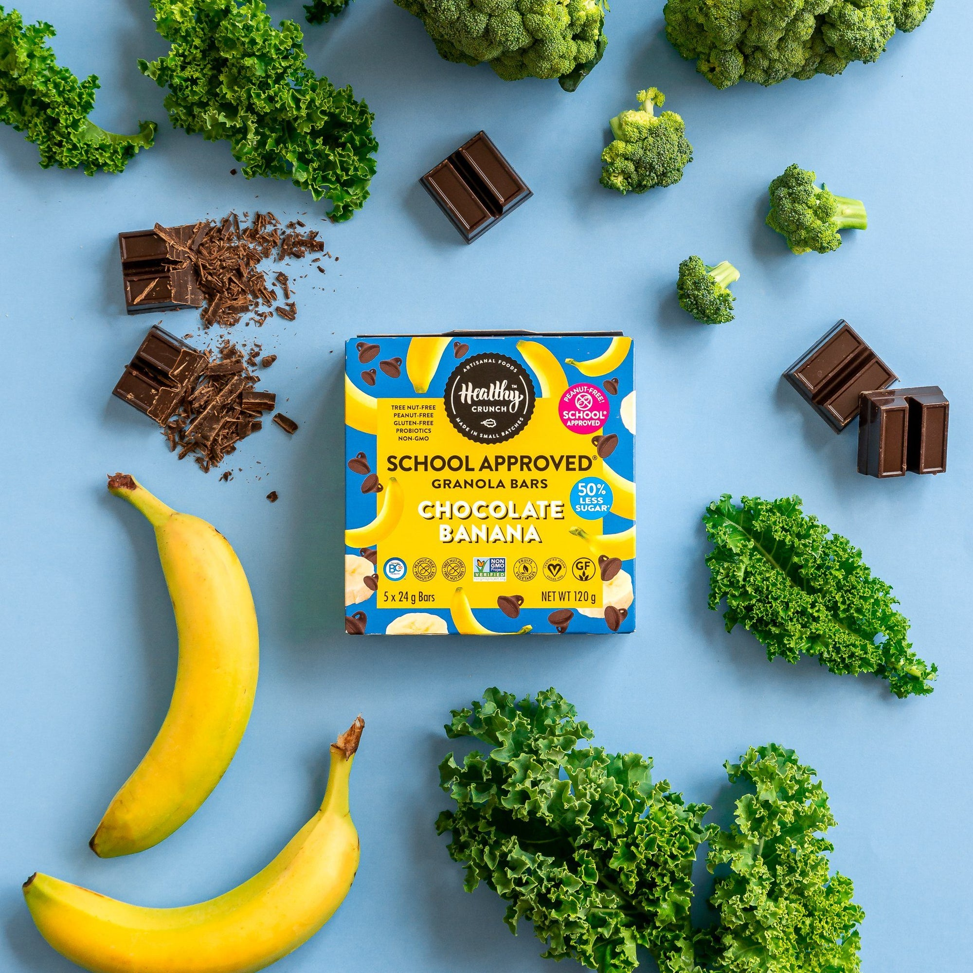 Healthy Crunch Launches First Ever School Approved Snack Line
