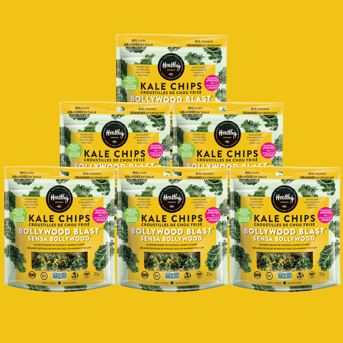 Bollywood Blast Kale Chips