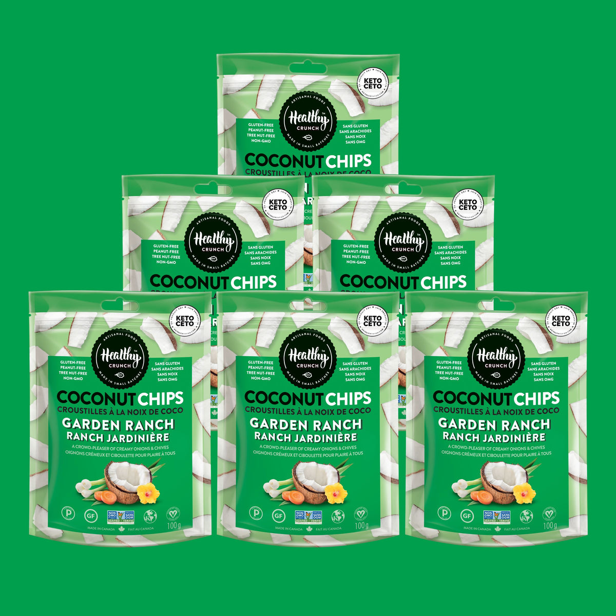 Garden Ranch Coconut Chips