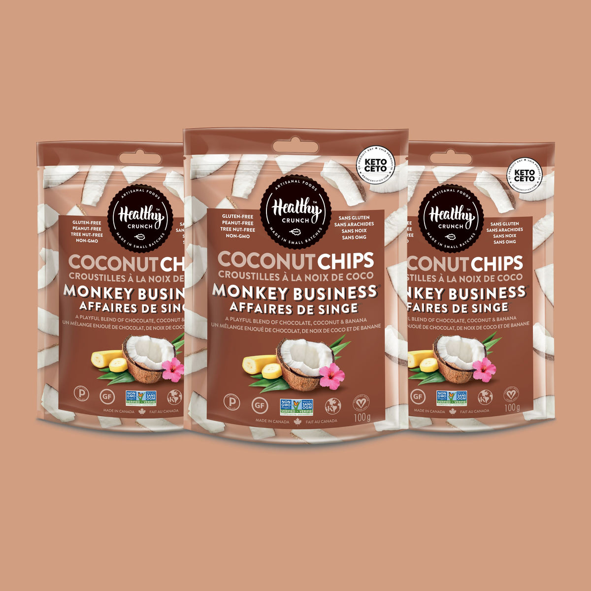 Monkey Business Coconut Chips