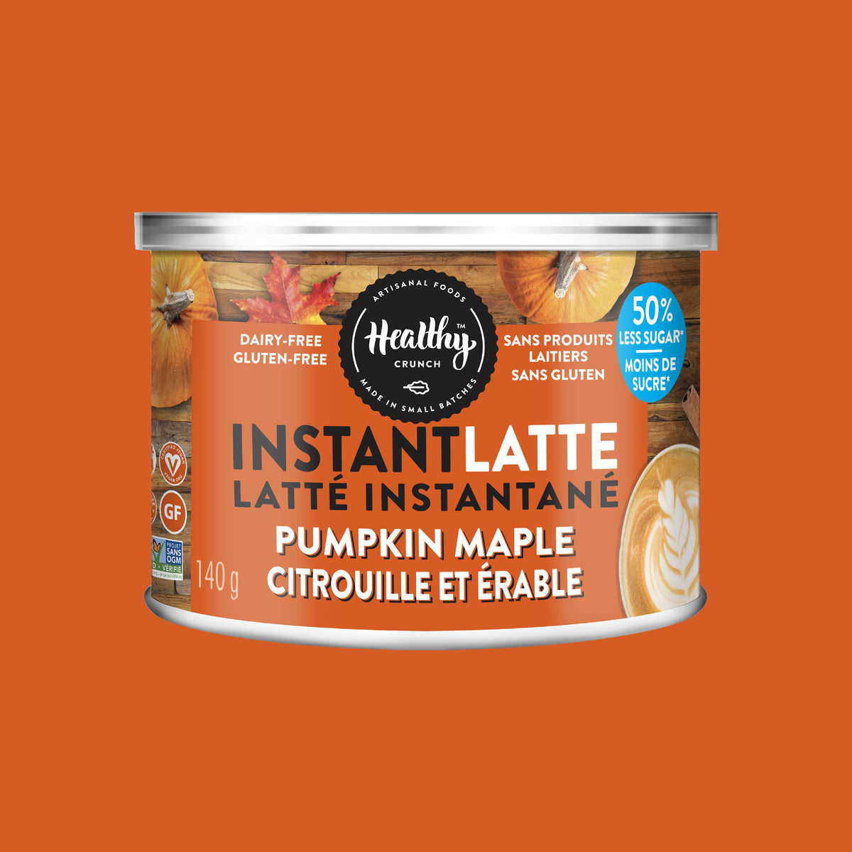 Pumpkin Maple Instant Latte