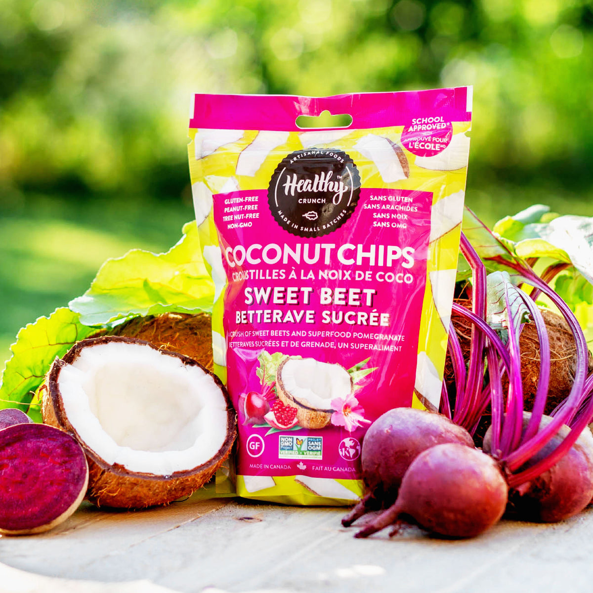 Sweet Beet Coconut Chips