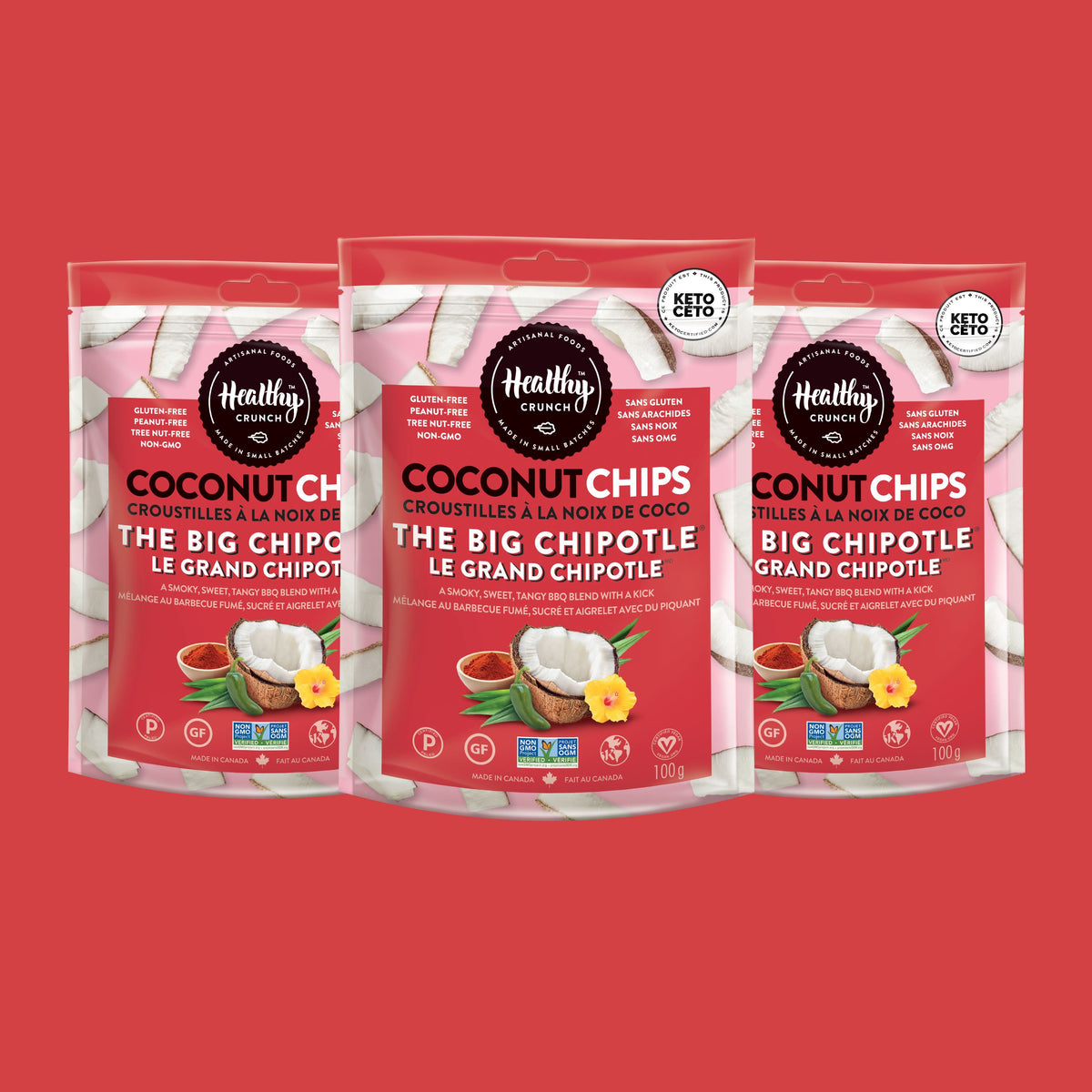 The Big Chipotle Coconut Chips