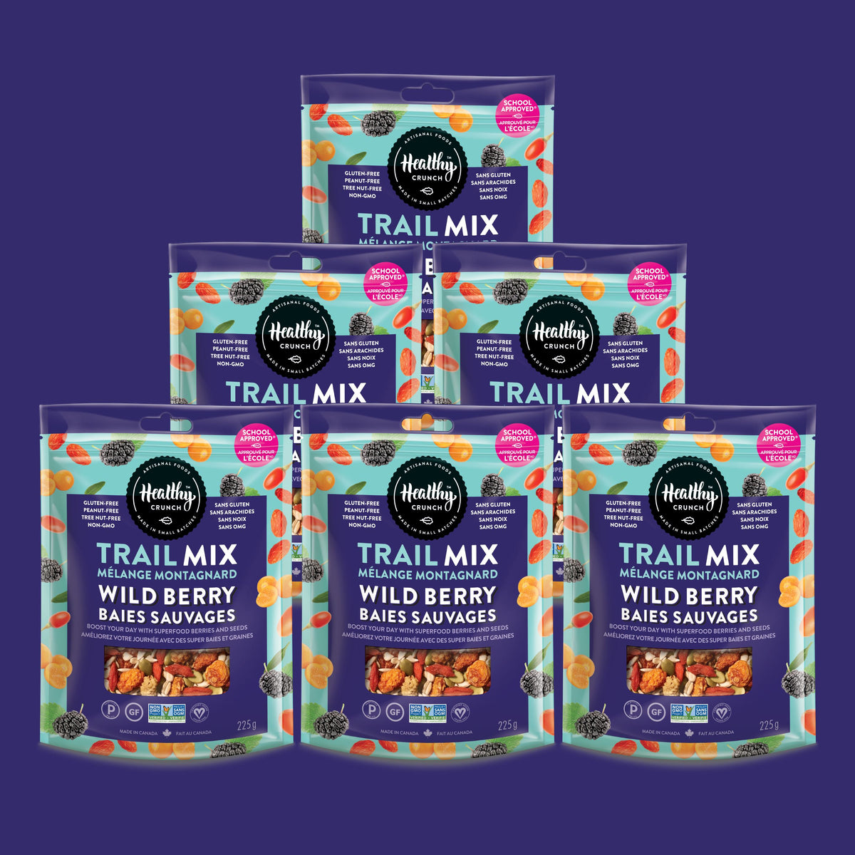 Wild Berry Trail Mix