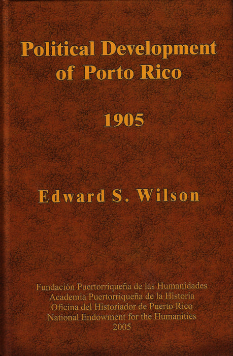 Political Development of Porto Rico 1905
