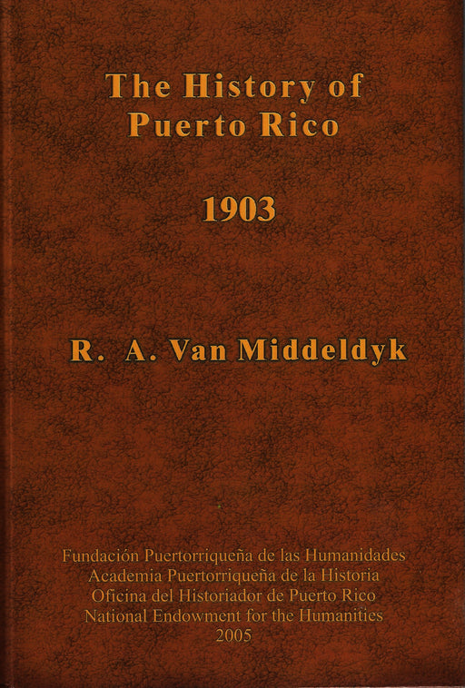 The History of Puerto Rico 1903
