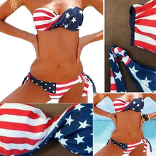 Load image into Gallery viewer, Miss America Bikini Set - The Fashion Bliss By VL Enterprises