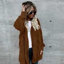 Load image into Gallery viewer, Women Hooded Long Cardigan Coat - The Fashion Bliss By VL Enterprises