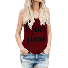 Load image into Gallery viewer, Beach Please Tank Top - The Fashion Bliss By VL Enterprises