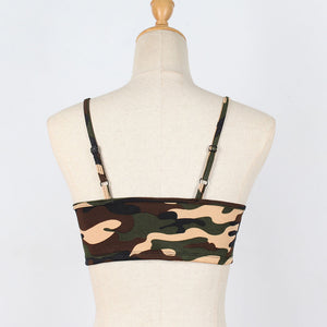 Camouflage Crop Top - The Fashion Bliss By VL Enterprises