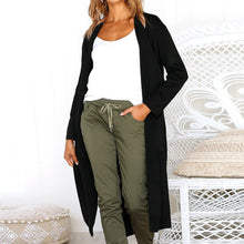 Load image into Gallery viewer, Long Sleeve, Open Front Cardigan - The Fashion Bliss By VL Enterprises