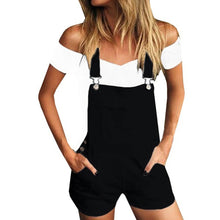 Load image into Gallery viewer, Casual Demin Shorts Jumpsuit - The Fashion Bliss By VL Enterprises