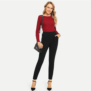 Skinny, High Waist Pants - The Fashion Bliss By VL Enterprises