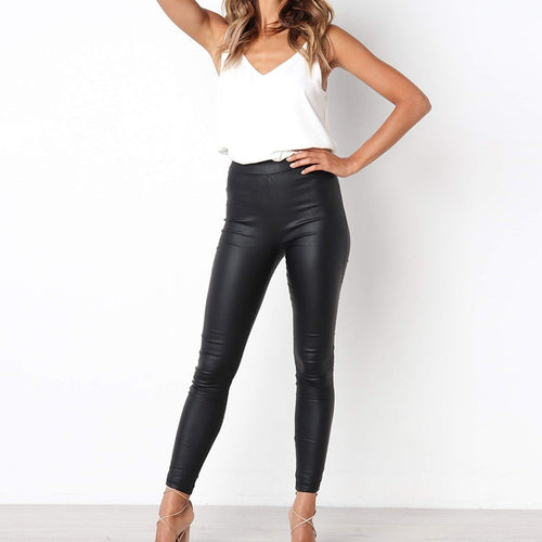 Leather Pants - The Fashion Bliss By VL Enterprises
