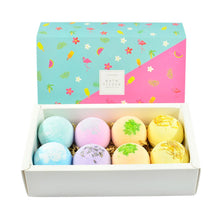 Load image into Gallery viewer, 8pcs Essential Oils Bath Bombs Multi-color - The Fashion Bliss By VL Enterprises