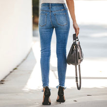 Load image into Gallery viewer, Hight Waist Stretch Denim Jeans - The Fashion Bliss By VL Enterprises