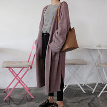Load image into Gallery viewer, Long Knit Cardigan - The Fashion Bliss By VL Enterprises