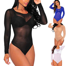Load image into Gallery viewer, Sexy Black Bodysuit - The Fashion Bliss By VL Enterprises