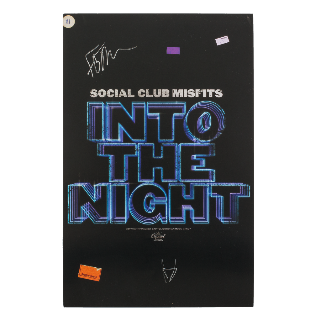 Autographed Into The Night Poster