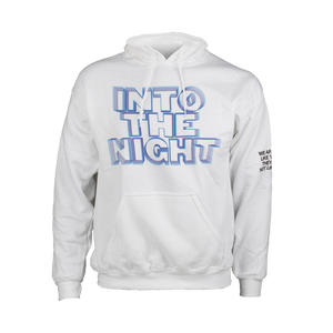 Into The Night Black Hoodie
