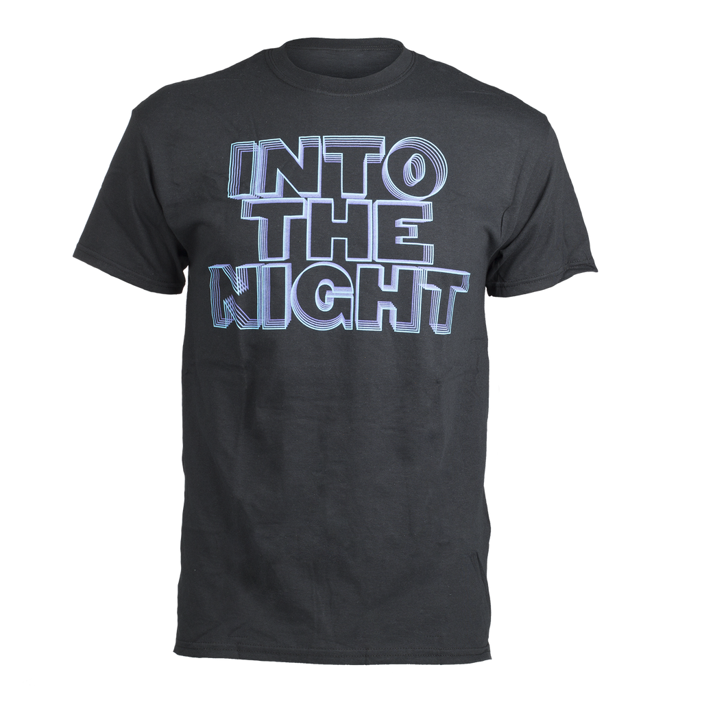 Into The Night Black Tee