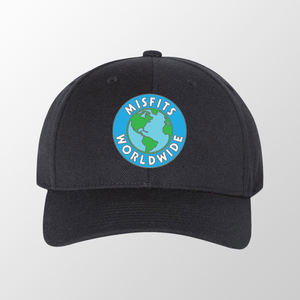 Black Misfit Worldwide Hat