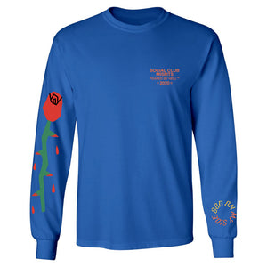 God On My Side - Blue Long Sleeve