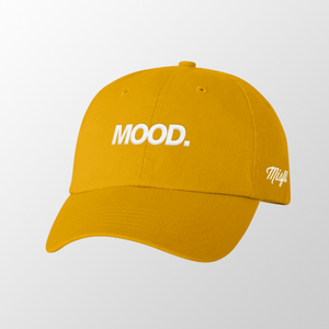Gold MOOD. Hat