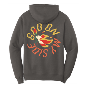 God On My Side - Charcoal Hoodie