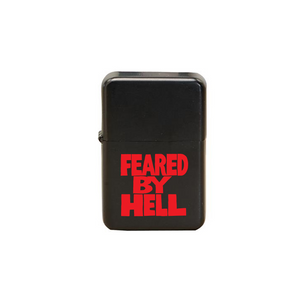 Feared By Hell Stacked - Black Lighter