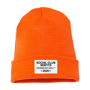 Social Club Misfits FBH 2020 - Orange Beanie