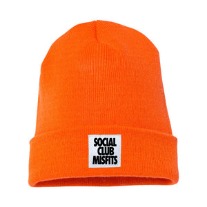 Social Club Misfits Stacked - Orange Beanie