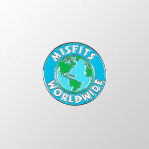 Misfits Worldwide Pin