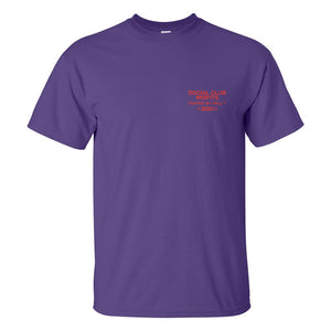 Social Club Misfits Stacked -  Purple T