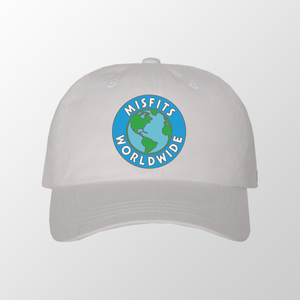 White Misfit Worldwide Hat