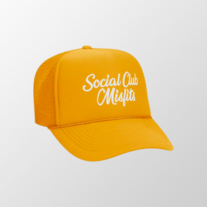 SCM Gold Trucker Hat