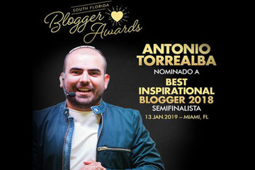 Nominación al Best Inspirational Blogger 2018