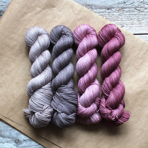 Floras Favourite Sock Dark Heather