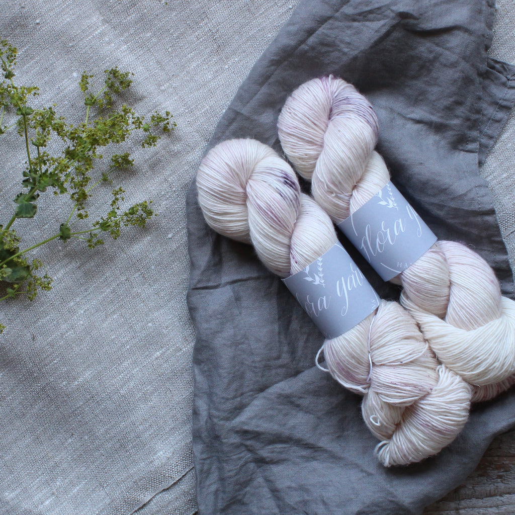 Floras Merino Linen Heather Sprinkles