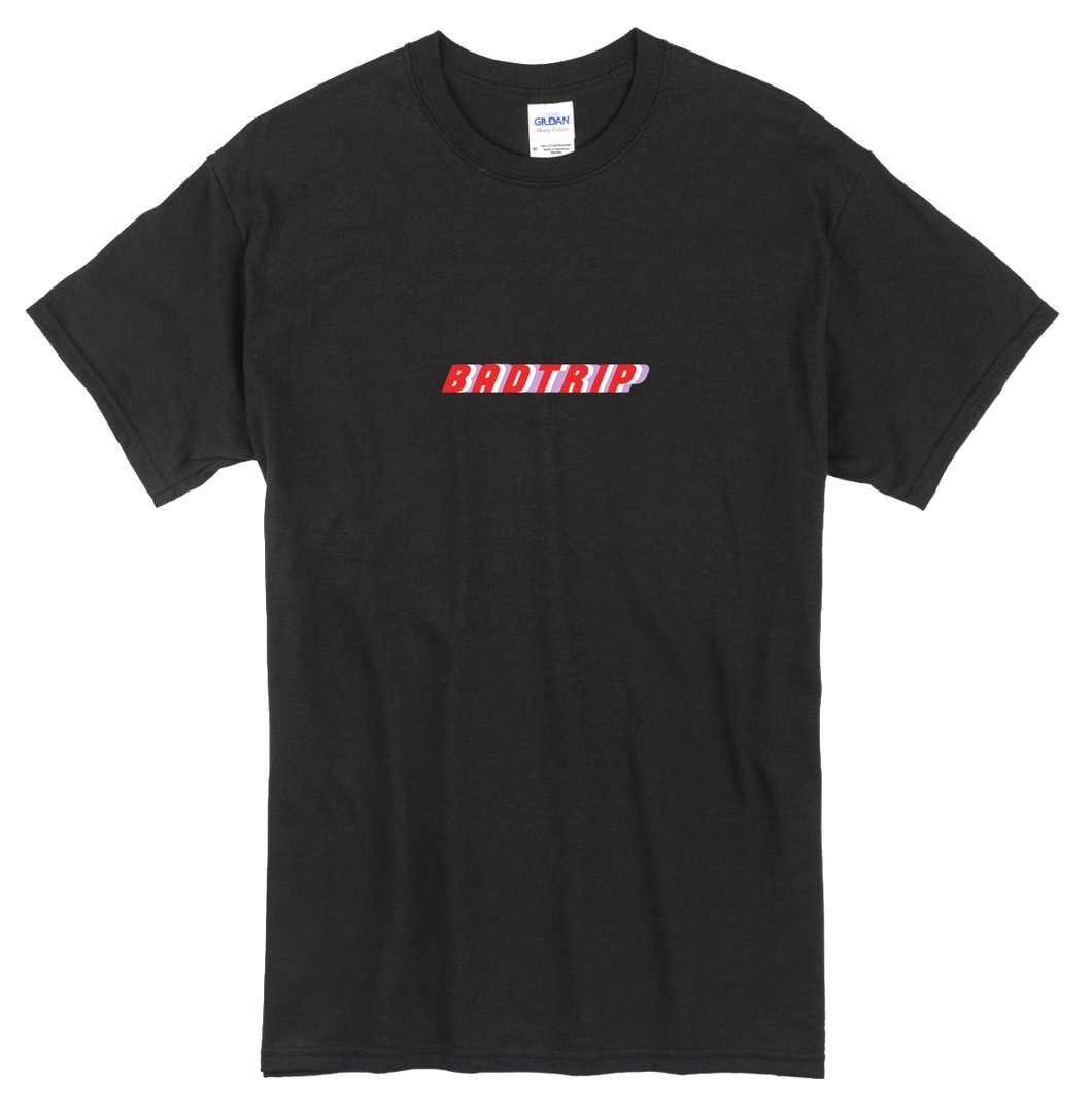 BADTRIP LOGO T-SHIRT - BLACK