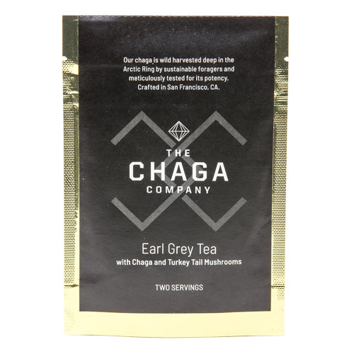 Earl Gray with Chaga