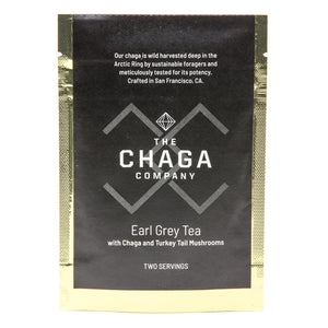 Earl Grey with Chaga and Turkey Tail Mushrooms