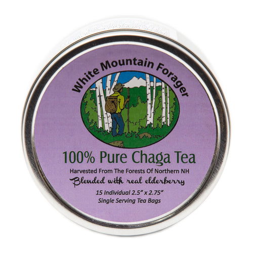 Chaga & Elderberry Tea Tin