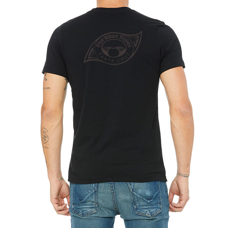 Black on Black Santa Cruz Shirt